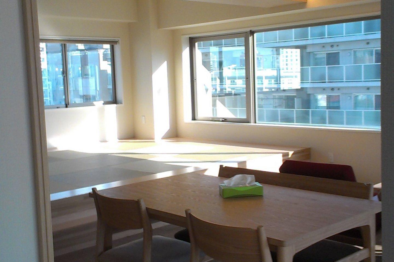 Area tempat makan di lantai 10
