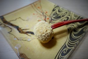 A traditional Japanese sweet