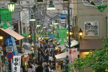 ย่าน Yanaka Ginza ในเขต Taito-ku