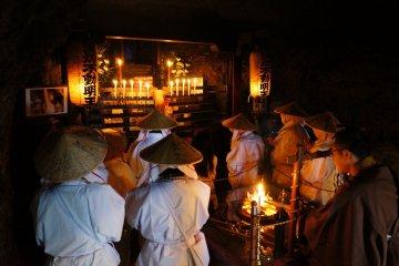 Pilgrims on the Shodoshima 88
