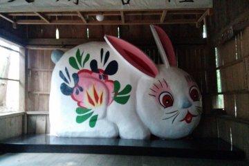 Le Sanctuaire des Lapins à Sendai