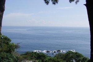 The view from Cape Manazuru