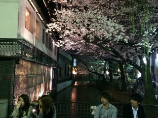 Dans le centre-ville de Kyoto