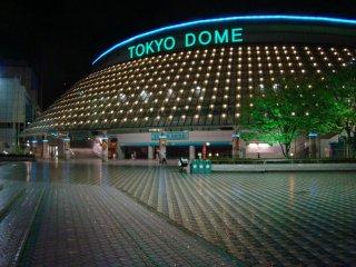 밤의 도쿄 돔