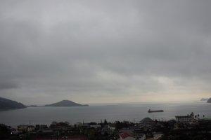 Tầm nhìn của bạn nhìn thẳng ra biển nội địa Seto