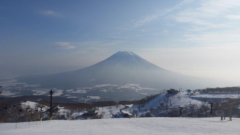 Mt Yotei is the beautiful backdrop of Niseko