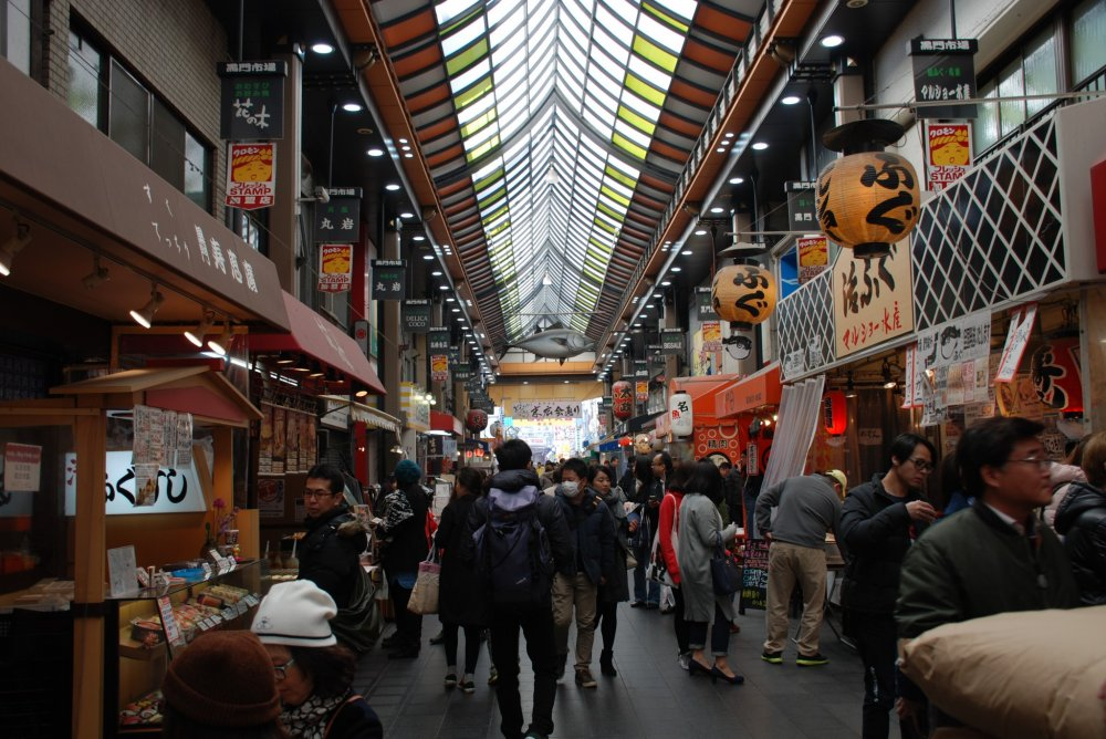 The market is popular with foodies from around the world.