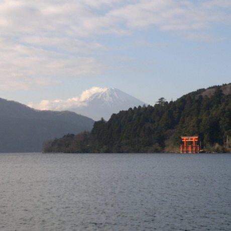 Views of Fuji From Lake Ashi