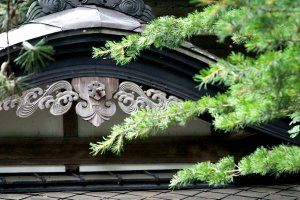 Detail from a samurai house