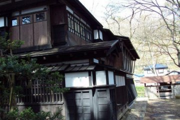 Samurai style architecture at its finest.