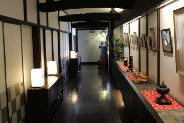 Beautiful interior at Kawamotoya Ryokan