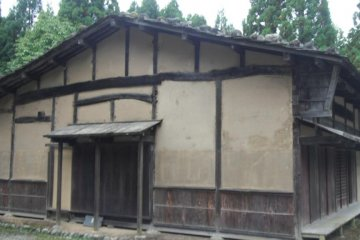 <p>One of the traditional buildings where pilgrims once stayed on their way to Oyama. This is where we dressed and prepared for the ceremony. The building is about 300m south of Ubado, so in actuality is beyond he limit of women during the Edo Period.</p>