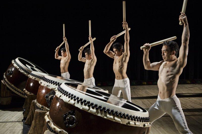The taiko drum ensemble Kodo hails from Sado Island in Niigata