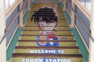 Chào mừng đến nhà ga Conan!