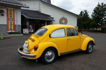 Professor Agasa's yellow beetle