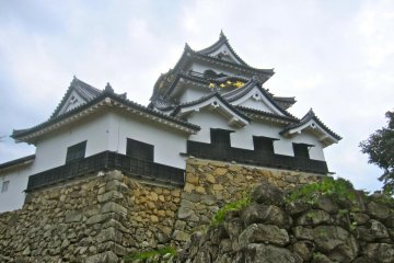 With its black and white color scheme and graceful gabling, Hikone Castle may be the most beautiful castle in Japan