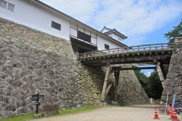 The Tenbin Yagura Turret and its bridge were the last defensive line before the main castle area. The bridge could be demolished if enemy forces ever got this far into the grounds