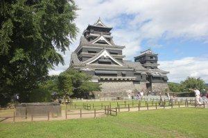 Kastil klasik di selatan Jepang