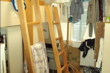 An example of a Komachi dorm. This was my dorm, on a good day.