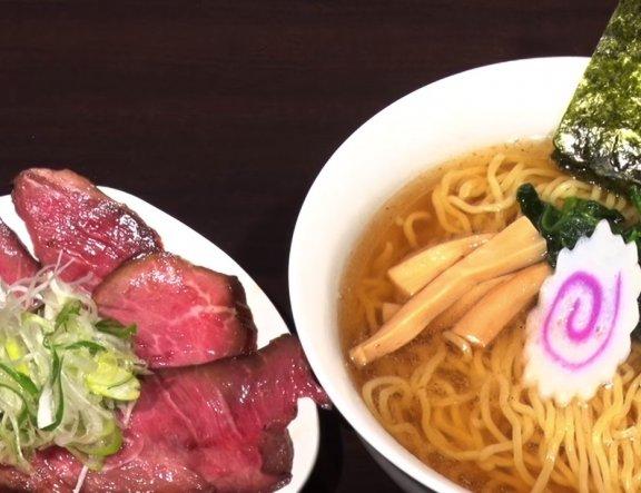 Ramen with Roast Beef