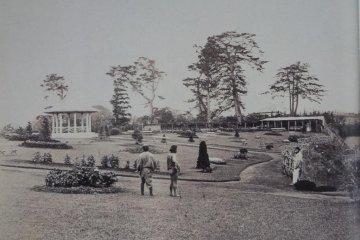 개원 당시의 야마테공원