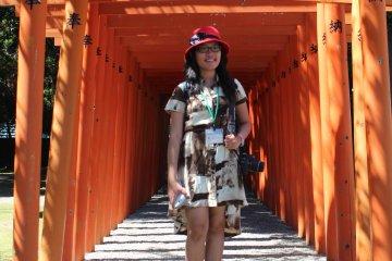 Миниатюра храма Фусими Инари