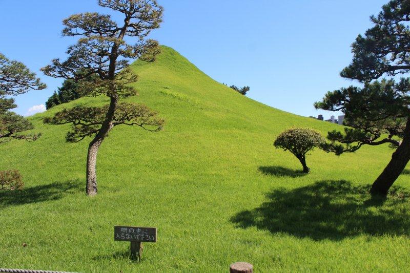 Миниатюра горы Фудзи