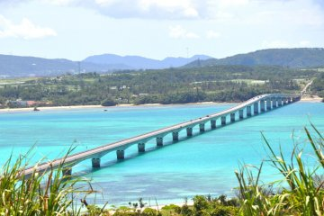 The bridge to Kouri Island in Okinawa
