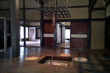 전통 주택의 내부