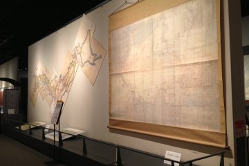 The combined maps, forming the Greater Japan Coastal Map
