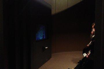 Mini theater at the Inoh Tadataka Museum