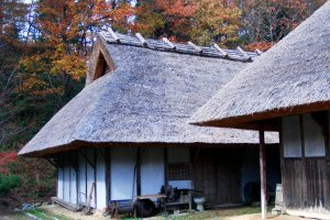 Edo period farmhouses at Kuma Kogen Furusato Ryoko Mura
