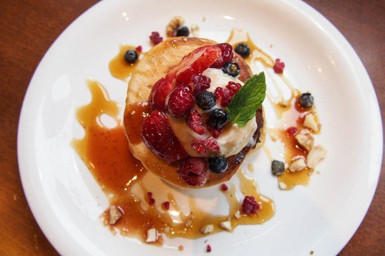 Pancake Vegan di Kyoto