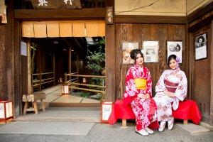 Rent a kimono at Yumeyakata