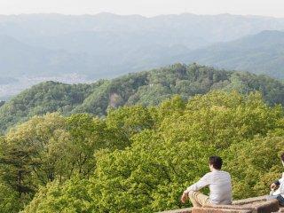 Vista do topo de Daimonji-yama