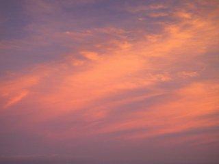 핑크색 구름