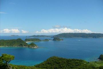 Scenery of Zamami-jima