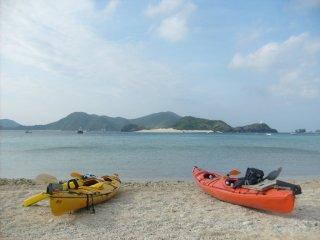 Zamami est idéale pour la plongée et pour le kayak