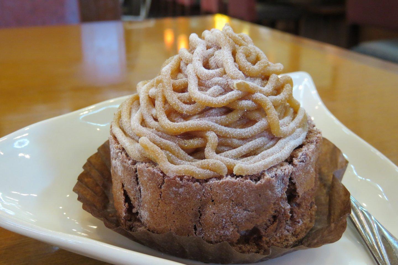 Chestnut montblanc pastry looks stunning