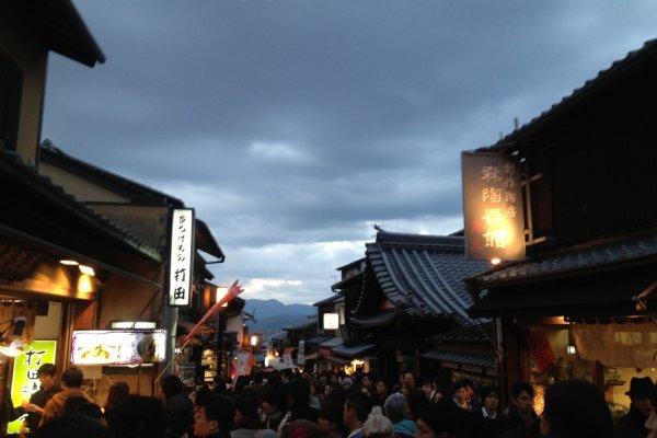 Tiap sudut area turis akan seramai ini semasa Golden Week