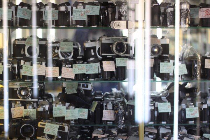 Camera Hunting in Shinjuku