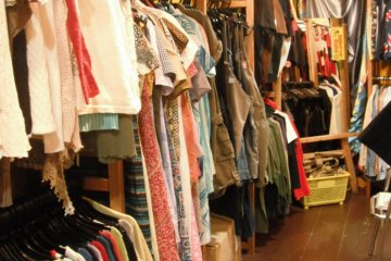 Vintage Shopping in Hiroshima