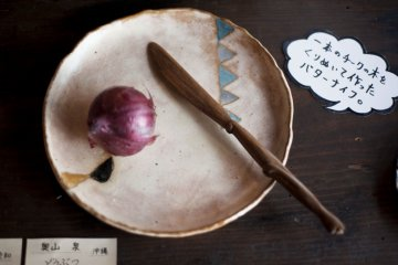 Aburakame showcases contemporary pottery in Okayama