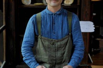 Kashiwado Yoshitaka, founder of Aburakame