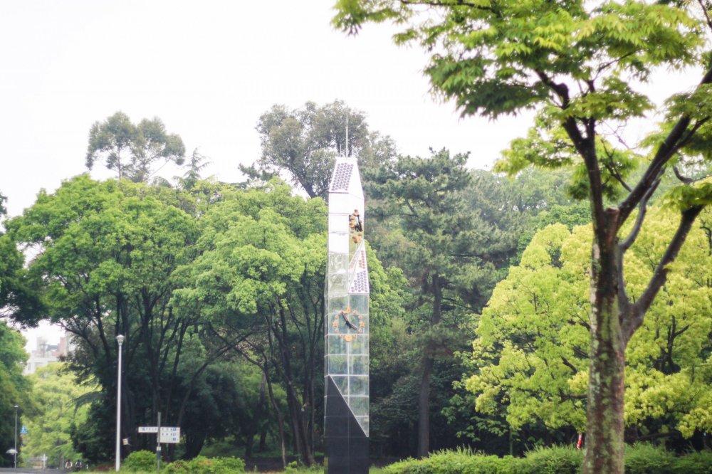 menara jam Taman