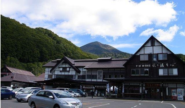 <p>The Sukayu Onsen main entrance</p>