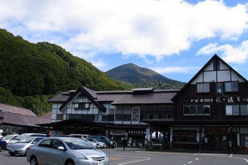 The Sukayu Onsen main entrance