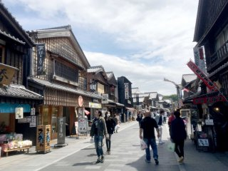 A walk along the 800-metre street is a step back in time