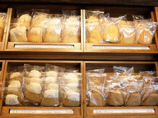 富士山曲奇餅單獨販賣:香草以及巧克力口味