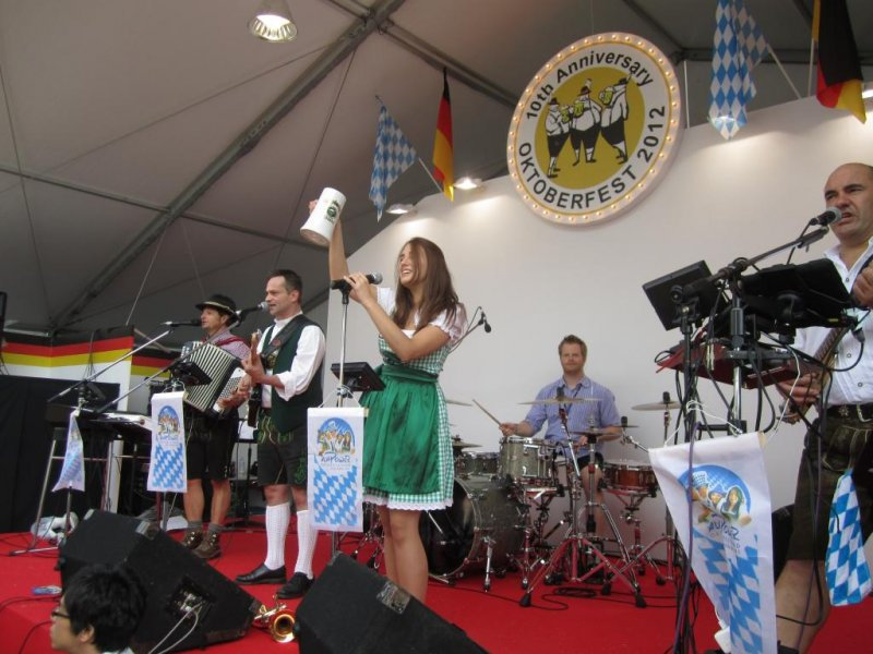 German Band Playing